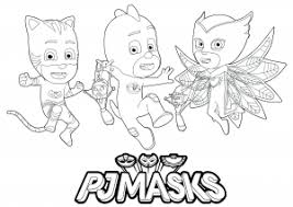 This series debuted in september 2015 and soon went on to become a. Pj Masks Free Printable Coloring Pages For Kids