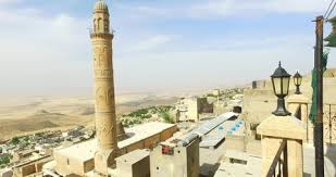 Mesopotamian Civilization General View Of Mesopotamian Plain And Mardin City Turkey
