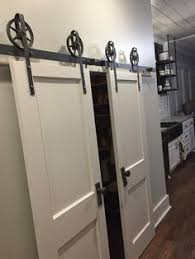 barn door hardware black is curly backordered there is a lead time of 2 3 weeks