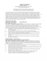 Sample Recruiter Resume Examples Prepossessing Sample Recruiter Resume Examples With Us It Resumes 19