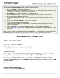 employment letter examples 14 employment verification letter examples pdf doc examples