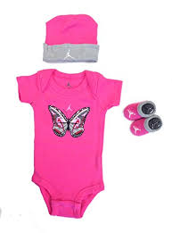 Baby Girl Jordan Clothes Amazing Jordan Baby Clothes Girls Shoe Butterfly 32 Piece Set 3232m Pink 32