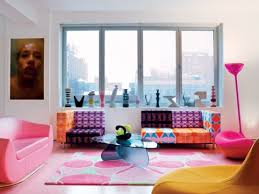 colorful living room. colorful living room designed by karim rashid