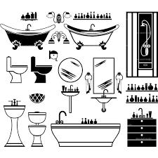 vintage clipart bathtub 3