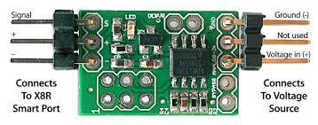 voltage sensor for frsky x8r receivers analog voltage sensor for frsky x8r receivers