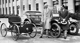 Henry Ford's son Edsel Ford President Ford Motor Company