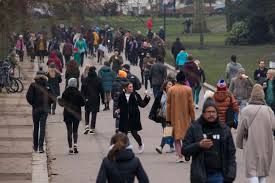We are so glad to hear how much you've enjoyed growing during lockdown @hackneycouncil pic.twitter.com/85pg9xbgdl. Crowds Head To Beaches And Parks Despite Boris Johnson S Pleas For People To Stay Home During Lockdown