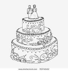 Wedding Cakes San Antonio Sample Beautiful Wedding Cake Vector