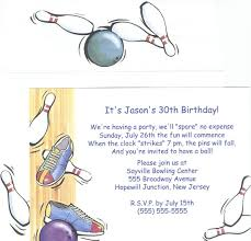 Bowling Birthday Party Invitations Wording Free Printable