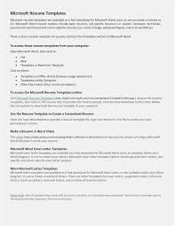 Free Collection 56 Free Resume Templates Microsoft Office Picture
