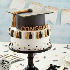 High School Graduation Cake Decorating Ideas Waggapoultryclub