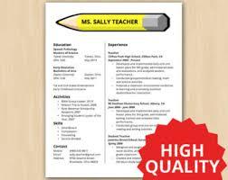 Teacher Resumes Templates Resume Template Ideas