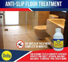 actual size prev next anti slip floor treatment