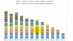 How To Make A Cohort Chart In Excel Everything About Cohort Analysis For Ecommerce