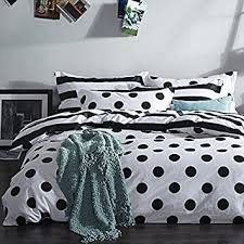 white duvet cover set 100 cotton black