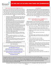 Public Health Emergency Preparedness City Of Minneapolis