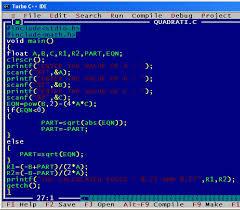 c program quadratic c program quadratic output