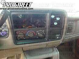 how to gmc sierra stereo wiring diagram my pro street 2001 sierra stereo wiring diagram