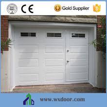 garage door with pedestrian access door and windows whole door suppliers alibaba