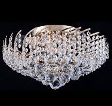 Casa Padrino Barock Kristall Decken Kronleuchter Gold 41 X H 24 Cm Antik Stil Möbel Lüster Leuchter Deckenleuchte Deckenlampe