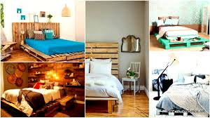 Pallet Bedroom Furniture 27 Ingeniously Beautiful Diy Pallet Bed Designs To Materialize