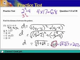 algebra 2 chapter 4 practice test solutions mathguy us