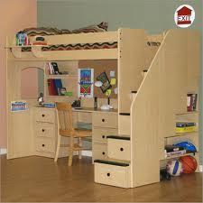 ... Charming Loft Bed With Desk Underneath Plans M11 In Home Design  Planning with Loft Bed With ...