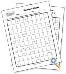 Hundred Chart Choose Range Of Empty Chart To Completely