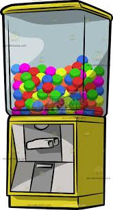 Vending Machine Clip Art Impressive A Gum Ball Vending Machine Clipart By Vector Toons
