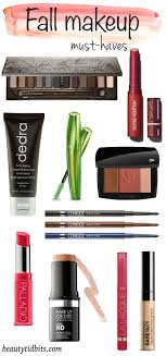 keep your beauty game in check with these new fall makeup must haves
