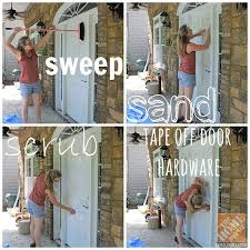 pendle pendle powell sawdust girl shares a few tips for prepping and painting a front door through to see the drab to fab transformation