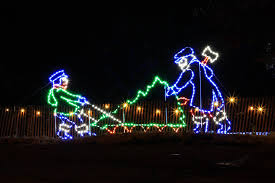 Clinton Symphony Lights The Symphony Of Lights Festival In Iowa Is An Enchanting