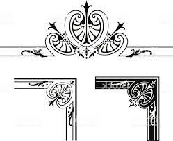 Corner Designs And Centre Scroll Design Gm Handandbeak