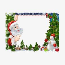 christmas santa borders and frames. Contemporary Christmas Christmas Border Santa Claus Grandfather Red PNG Image And Clipart And Christmas Borders Frames A