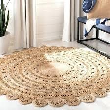 hand woven natural fiber coastal jute rug x round safavieh runner