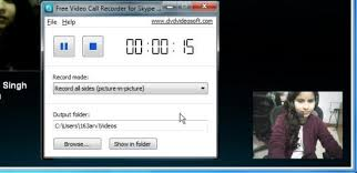 record skype video calls free skype video call recorder to record both parties in