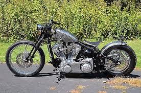 vintage softail springer bobber chopper rolling chassis frame