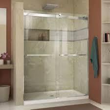 Frameless Bypass Shower Door