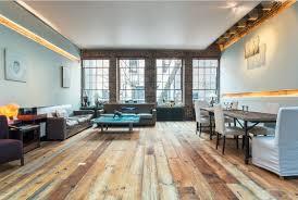 Light Wood Flooring with Dark Furniture