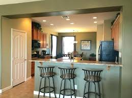 kitchen overhang for seating breakfast bar countertop depth counter awesome