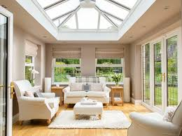 living room conservatory roof