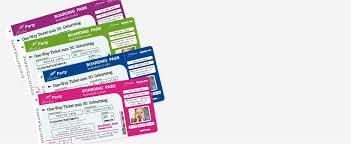 Doch nachträgliche änderungen der namen können kostspielig werden. Einladungskarten Flugticket Boarding Pass Geburtstag Ticket