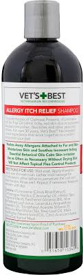 Vet's Best Allergy Itch Relief Shampoo for Dogs, 16-oz bottle ...