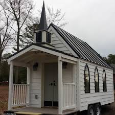 Small Picture Retired Bil Malbon minister builds his own travelling chapel on