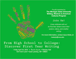 writing conference from high school to college discover first college flyer2