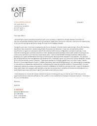 Presentation Letter For Resume A Good Resume Example