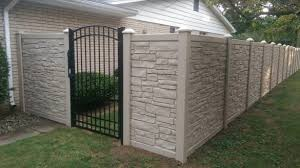 Inexpensive Aluminum Privacy Fence Designs Building A Privacy With