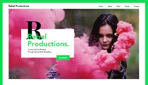 Video Website Template Custom Video Website Templates Wix