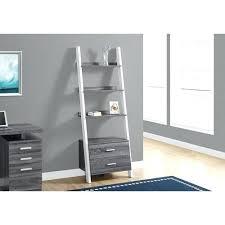 white storage ladder ave grey bookcase with 2 drawer bathroom shelf uk