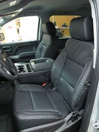 2016 2016 2017 chevy silverado sierra crew katzkin leather seat cover set black